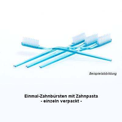 Ampri Einmal-Zahnbürsten mit Pasta 10066
