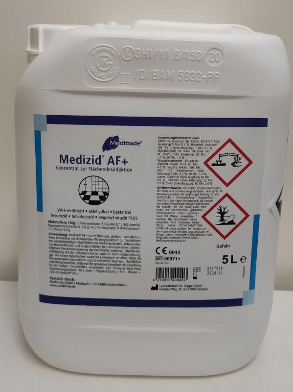 Flächendesinfektion Medizid AF 5 Liter